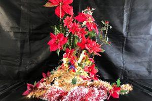 琉球石灰岩のクリスマスバージョン