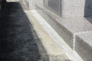 御影石の防水