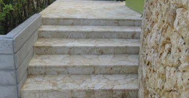 琉球石灰岩リフレッシュ施工
