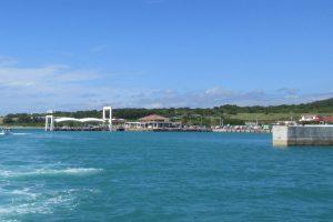 石垣島から船で小浜島へ