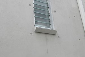浸透型超微粒子セメント仕上げのコンクリート表面被覆工法を施工後