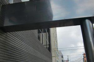 外装に使用されたステンレスの防錆コーティング