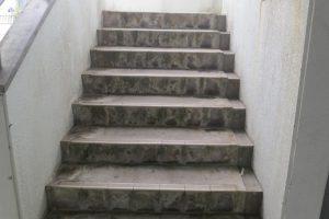 アパート・マンションのコンクリート階段